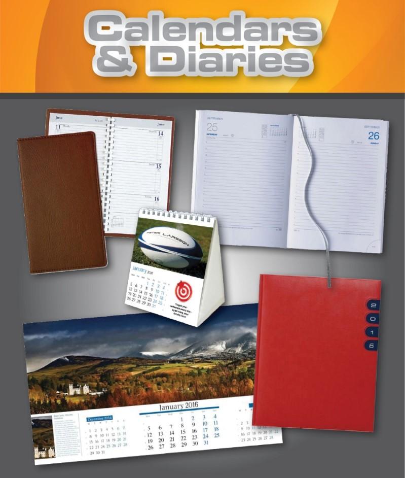 Calendars and Diaries