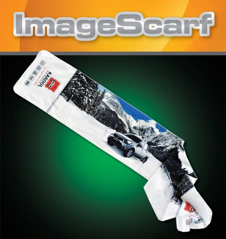 Digitally Printed Micro Fleece Scarf