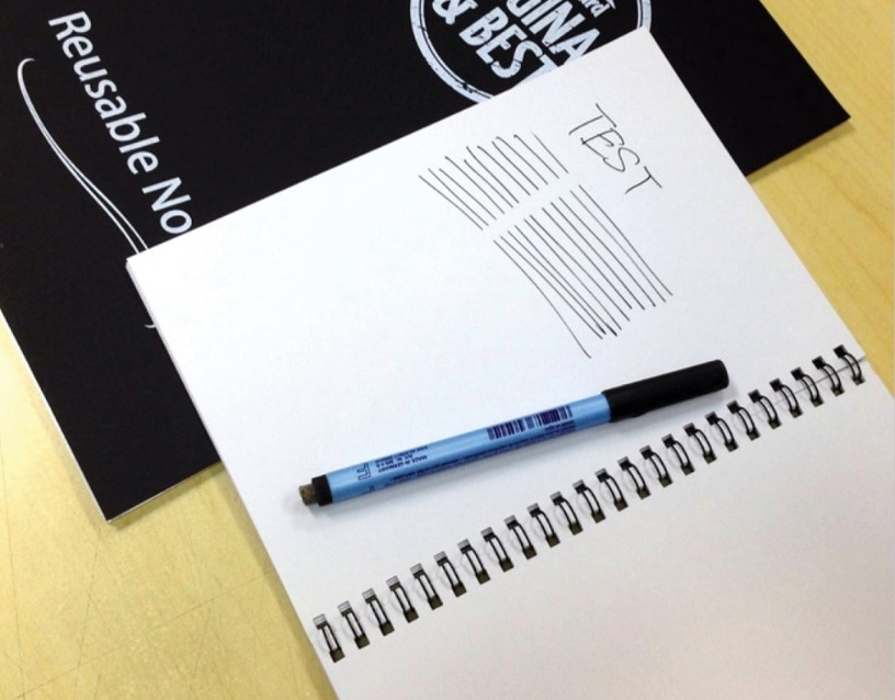 Magic Whiteboard Notebook