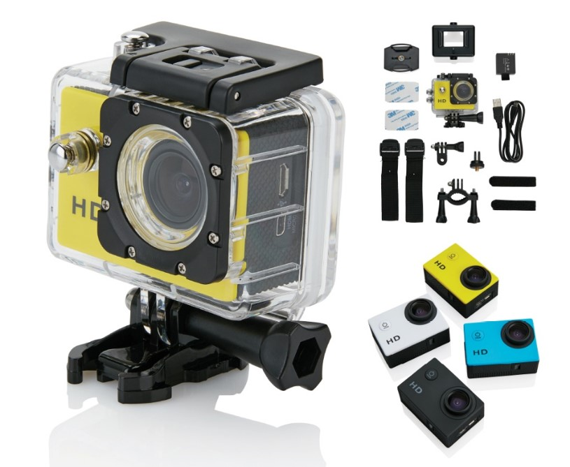 Branded Action Sports Camera