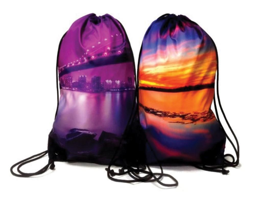 Full Colour Branded Drawstring Bags