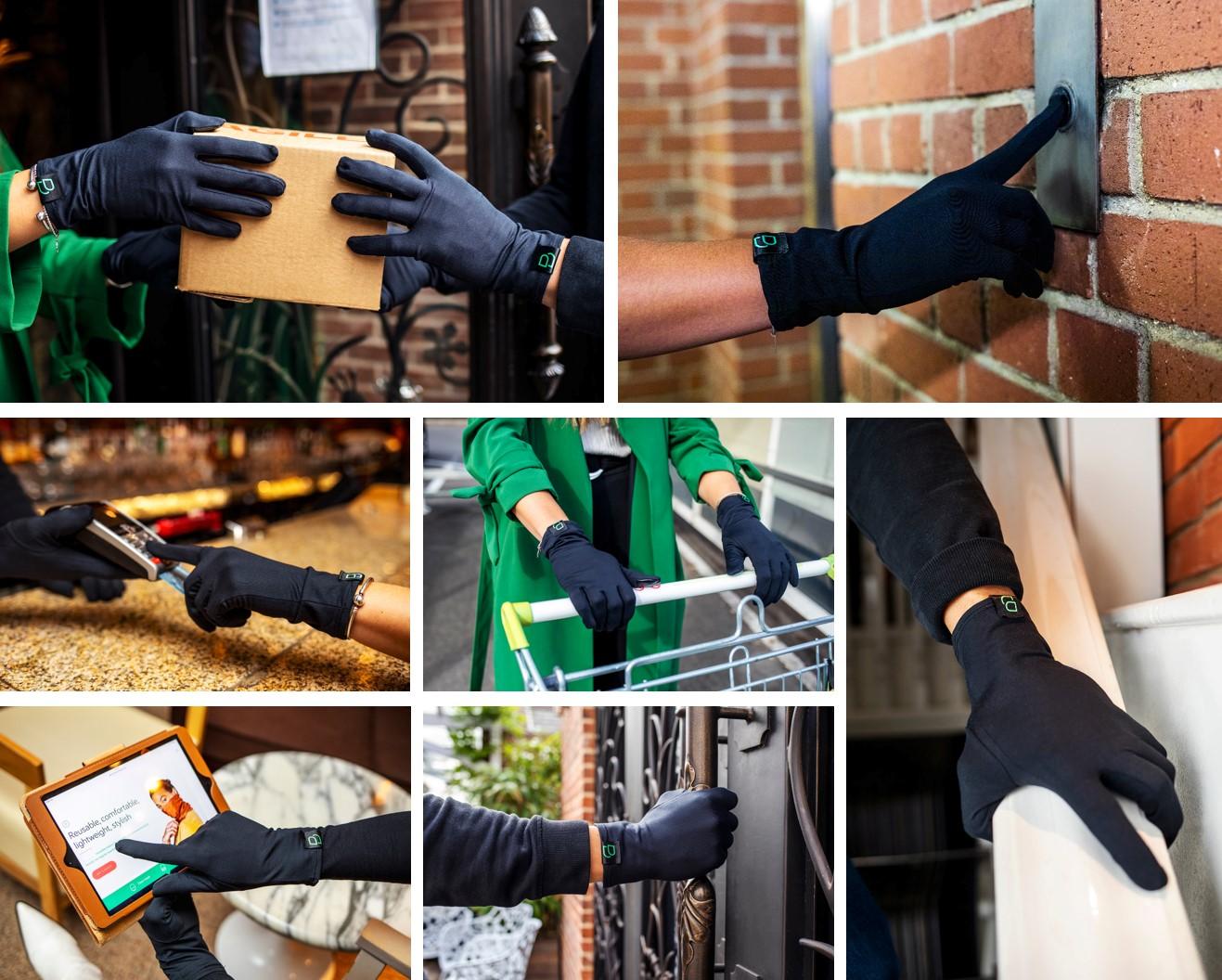 AntiViral Touchscreen Gloves