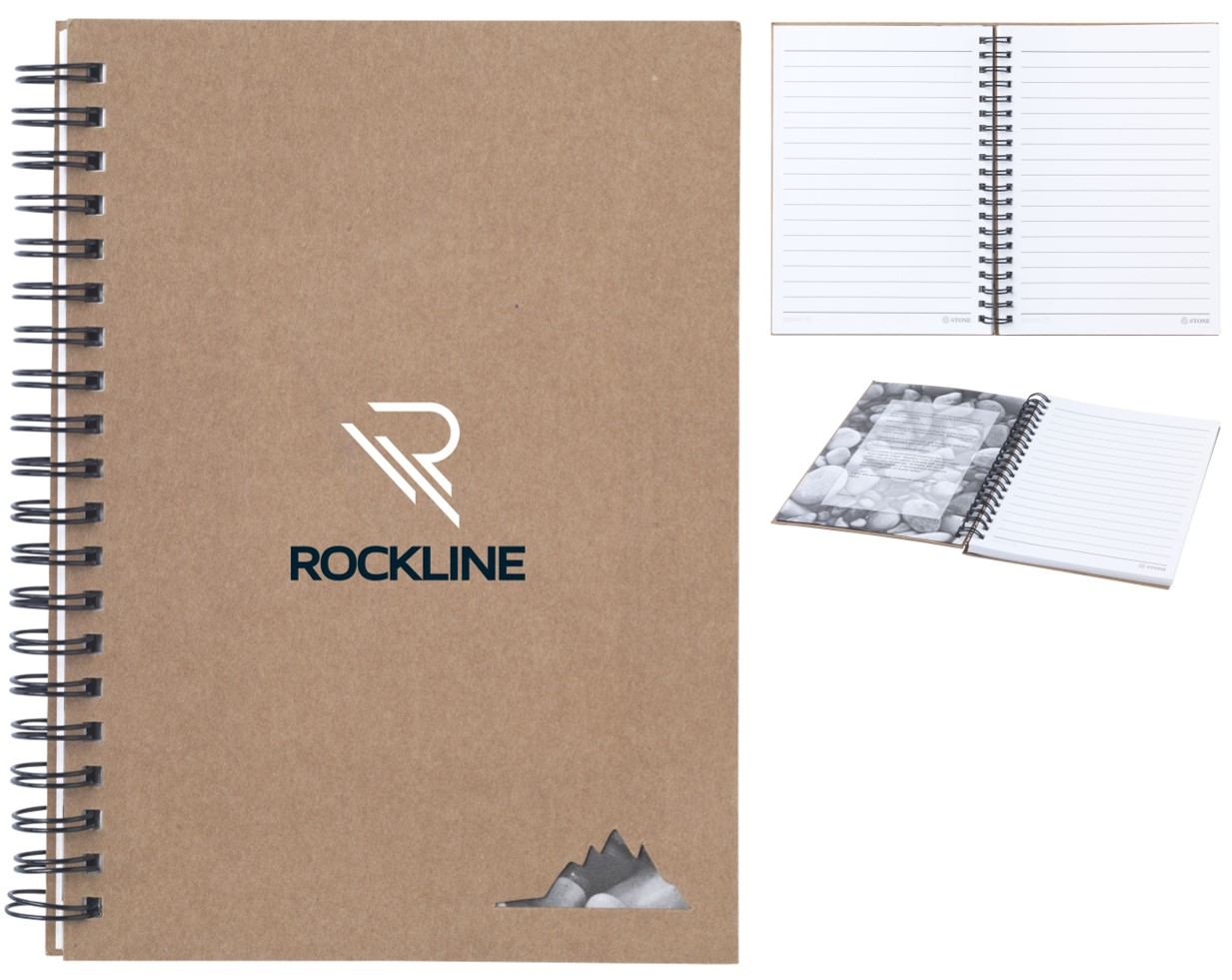 Eco Notebook with Stone Paper