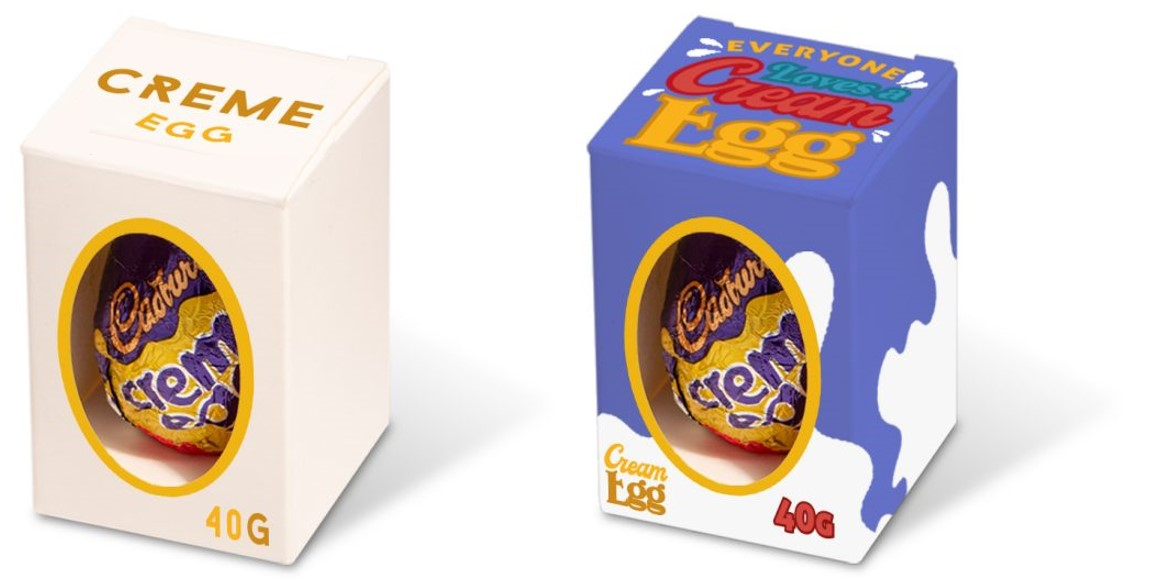 Branded Cadbury Creme Egg