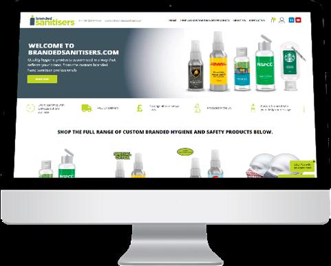 Visit our dedicated custom branded hygiene essentials website
