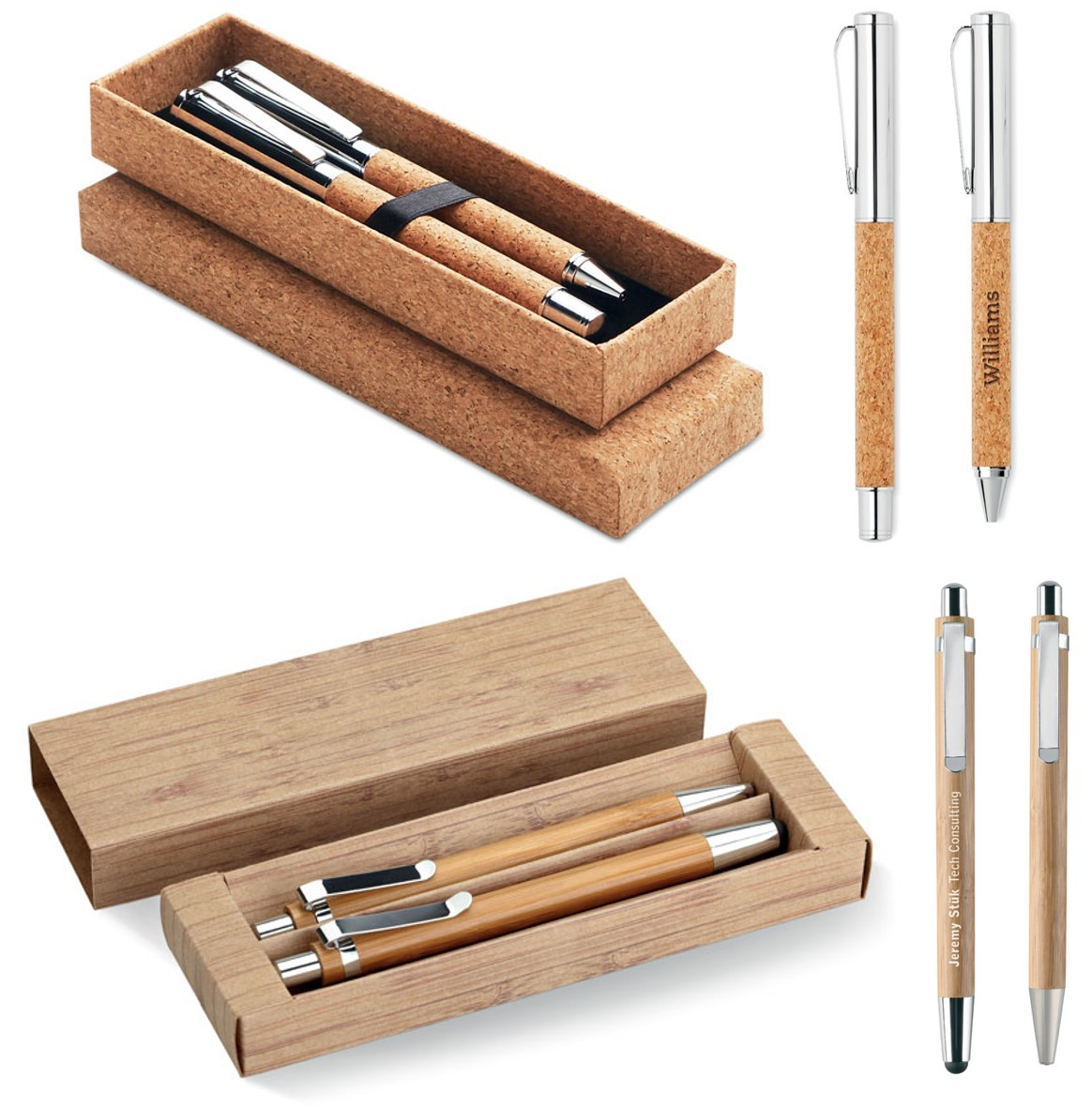Sustainable and Stylish Writing Instrument Sets