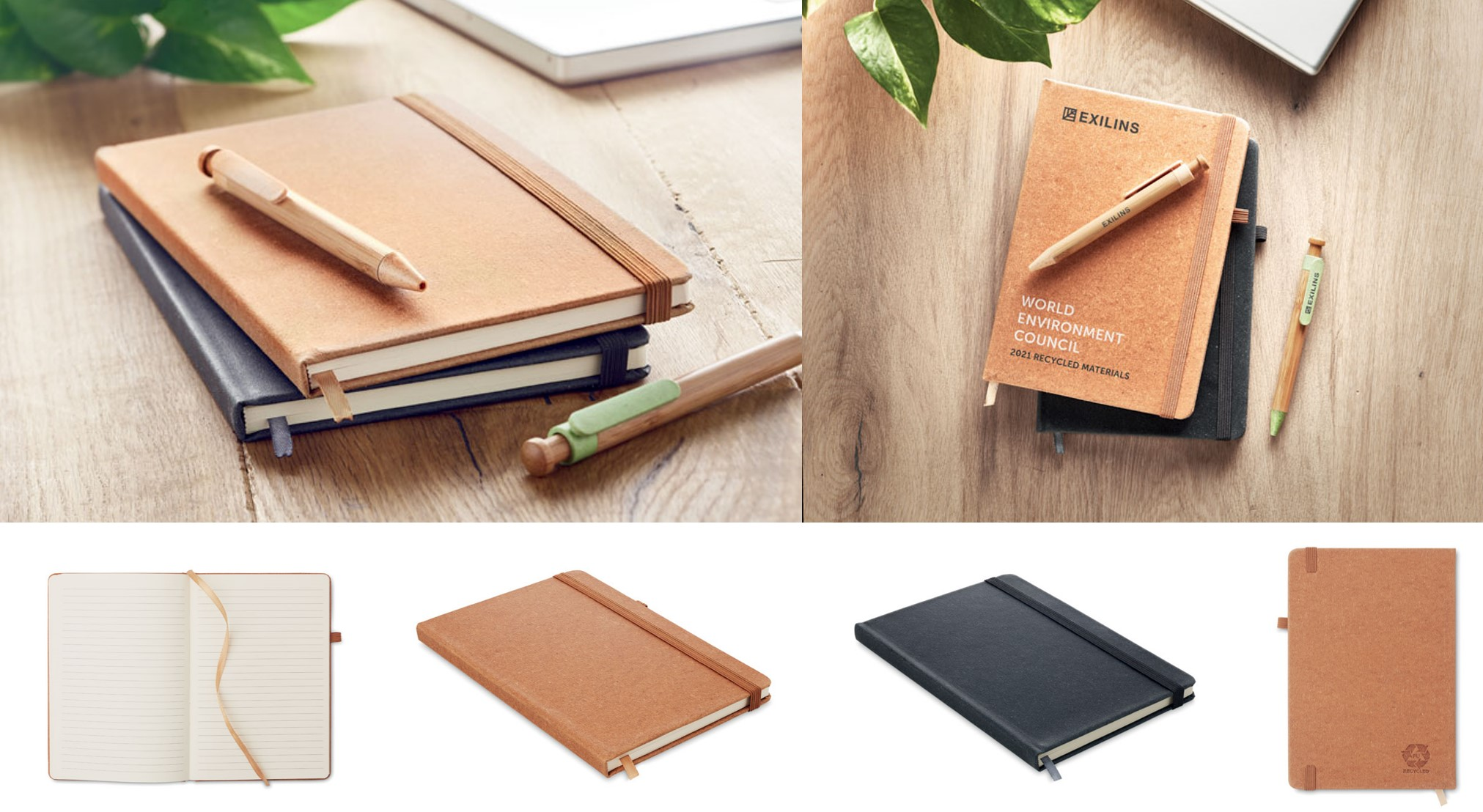 A5 Recycled PU Notebook